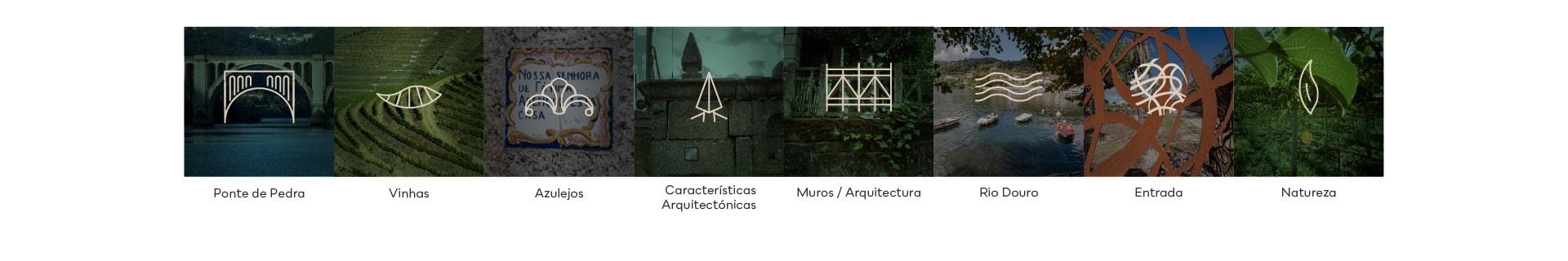 Elementos visuais para o Branding da Quinda de Santo António