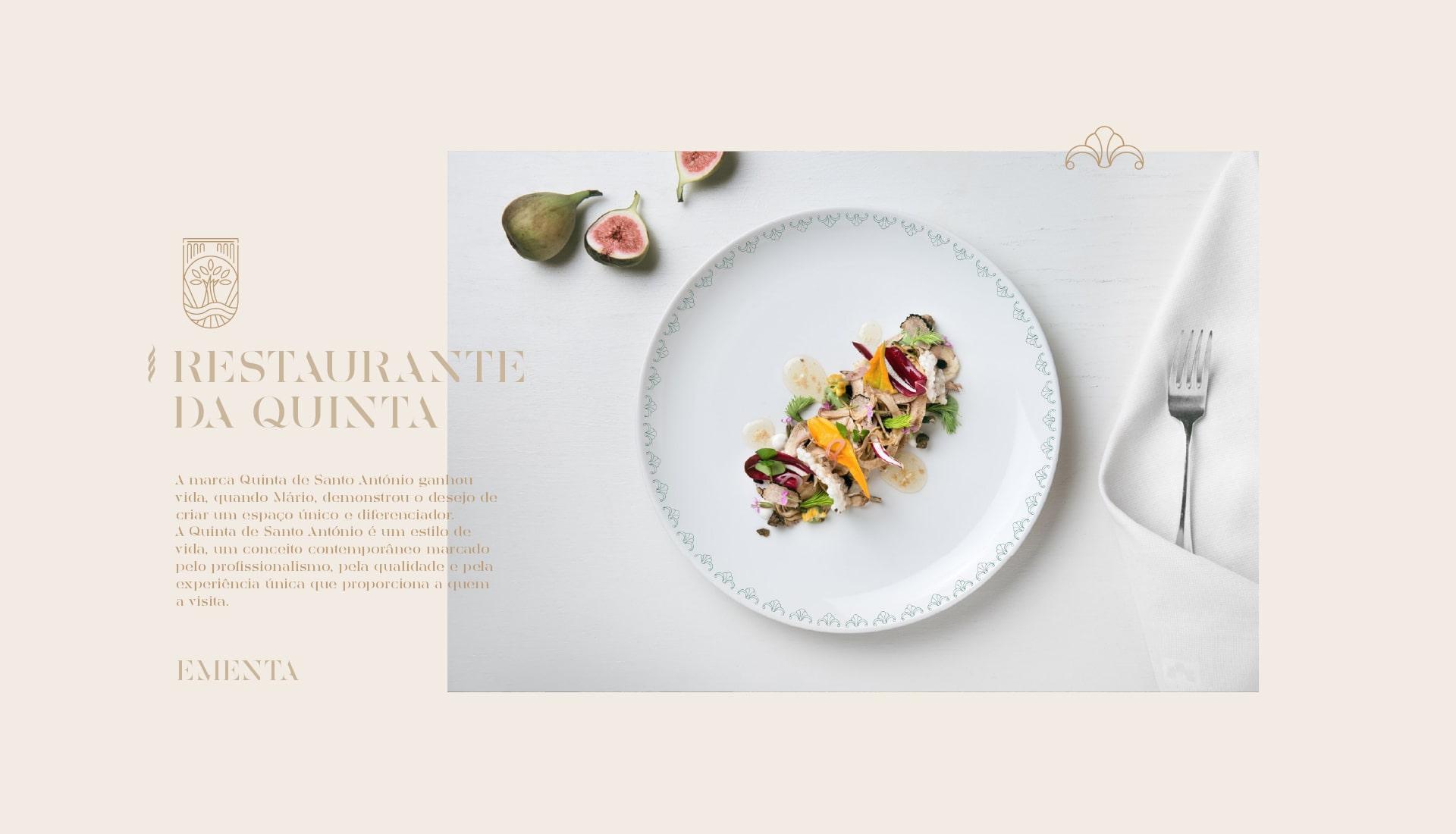 Conceito da marca Quinta de Santo António