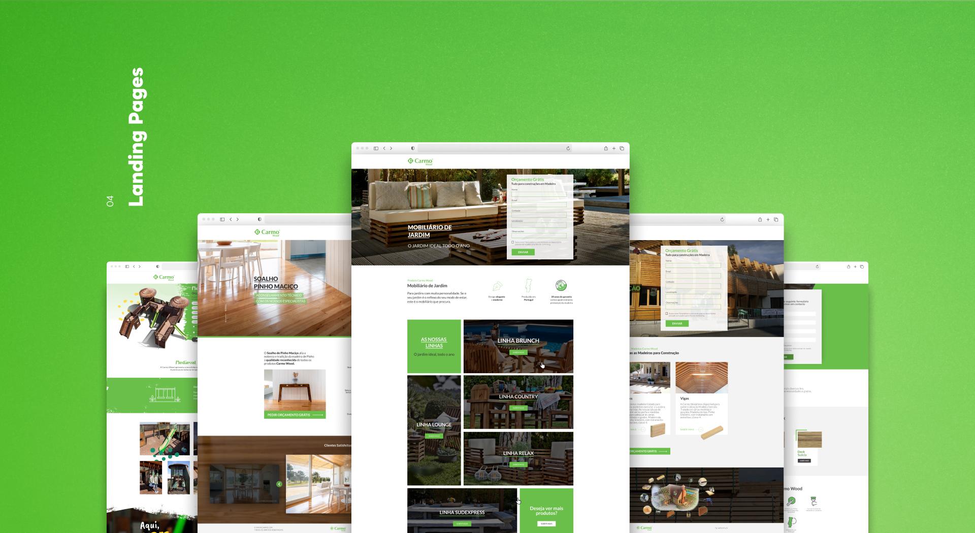 Exemplos de Landing Pages