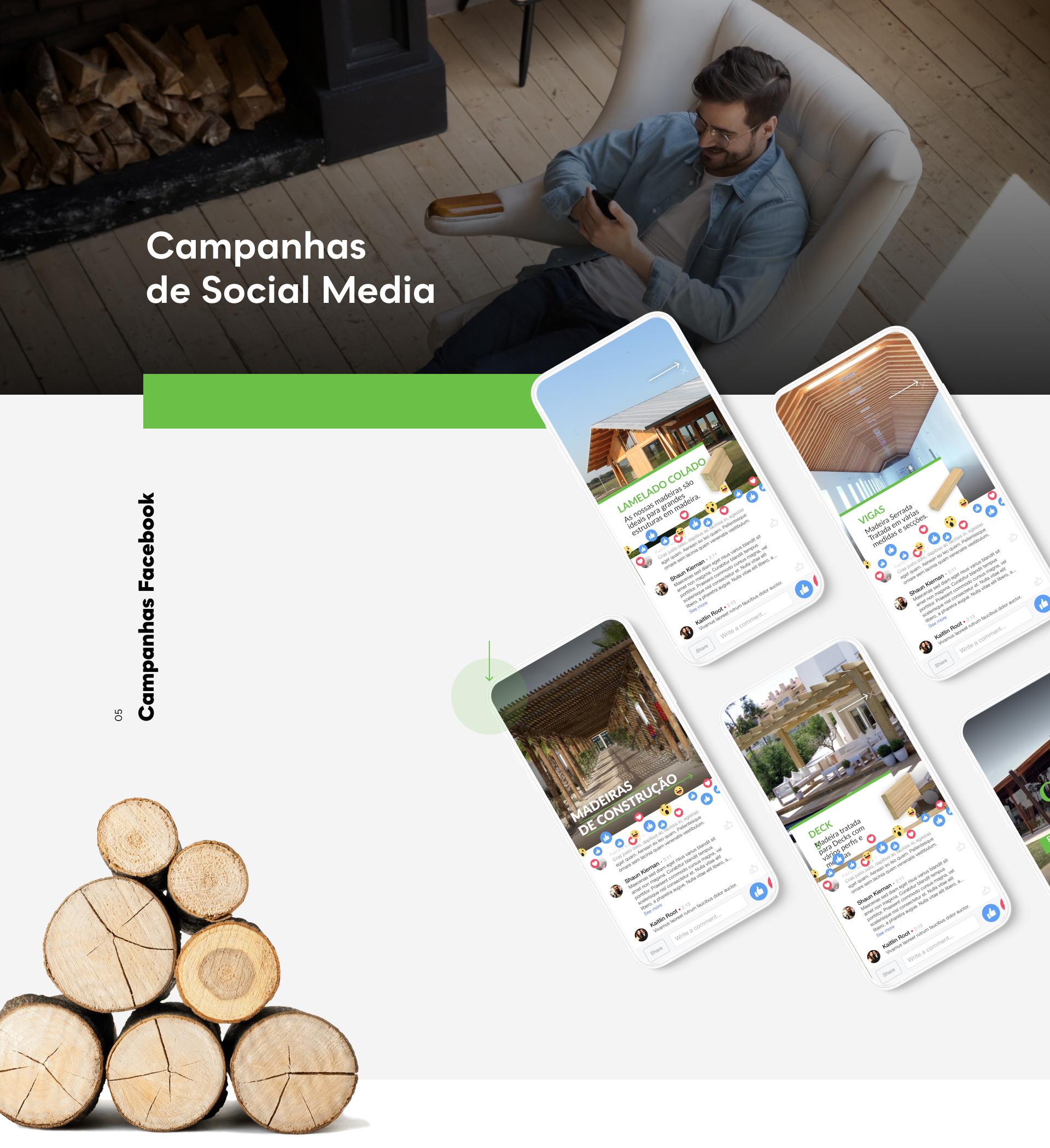 Exemplos de Campanhas de Facebook