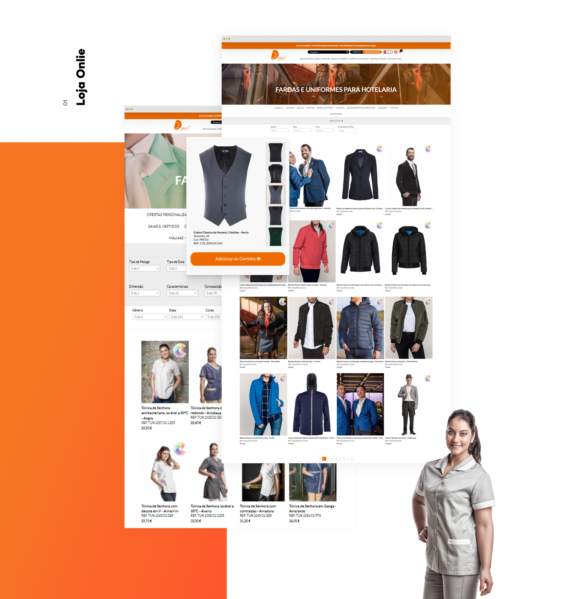 Exemplos Loja Online